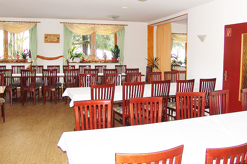 Ein Blick in den Saal des Alten Kaffeehauses.